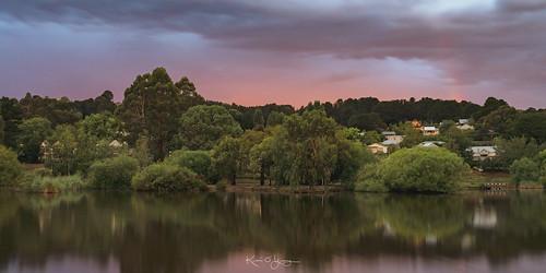 pinkrainbow sunset daylesford victoria sony a7r3 sonyfe24105mmf4g mt lake