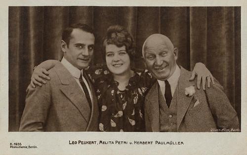 Leo Peukert, Melita Petri and Herbert Paulmuller