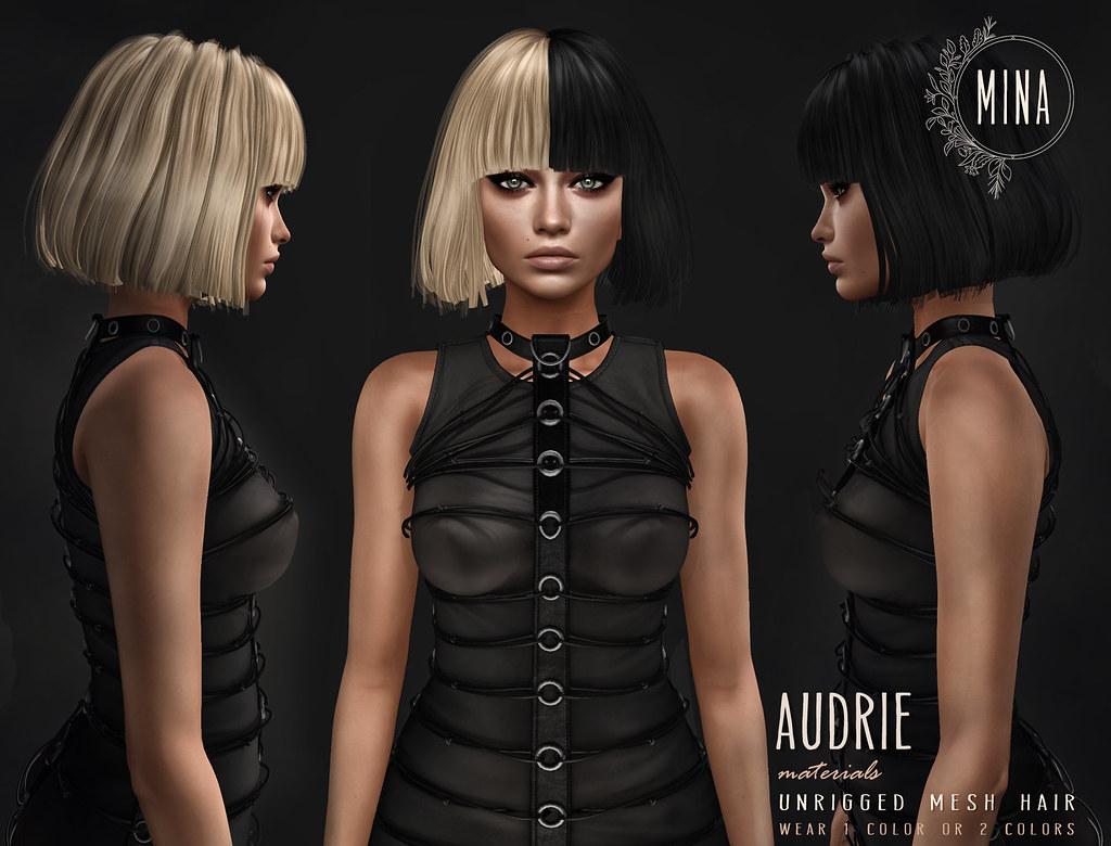 MINA Hair – Audrie for Fetish Fair