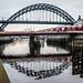 Tyne bridge reflections. . .