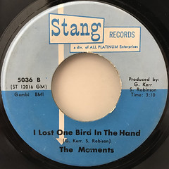THE MOMENTS:THANKS A LOT(LABEL SIDE-B)