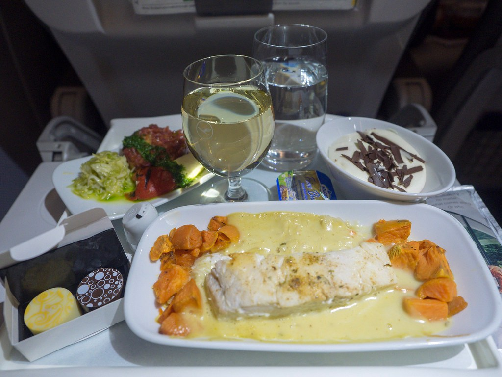 Lufthansa dinner