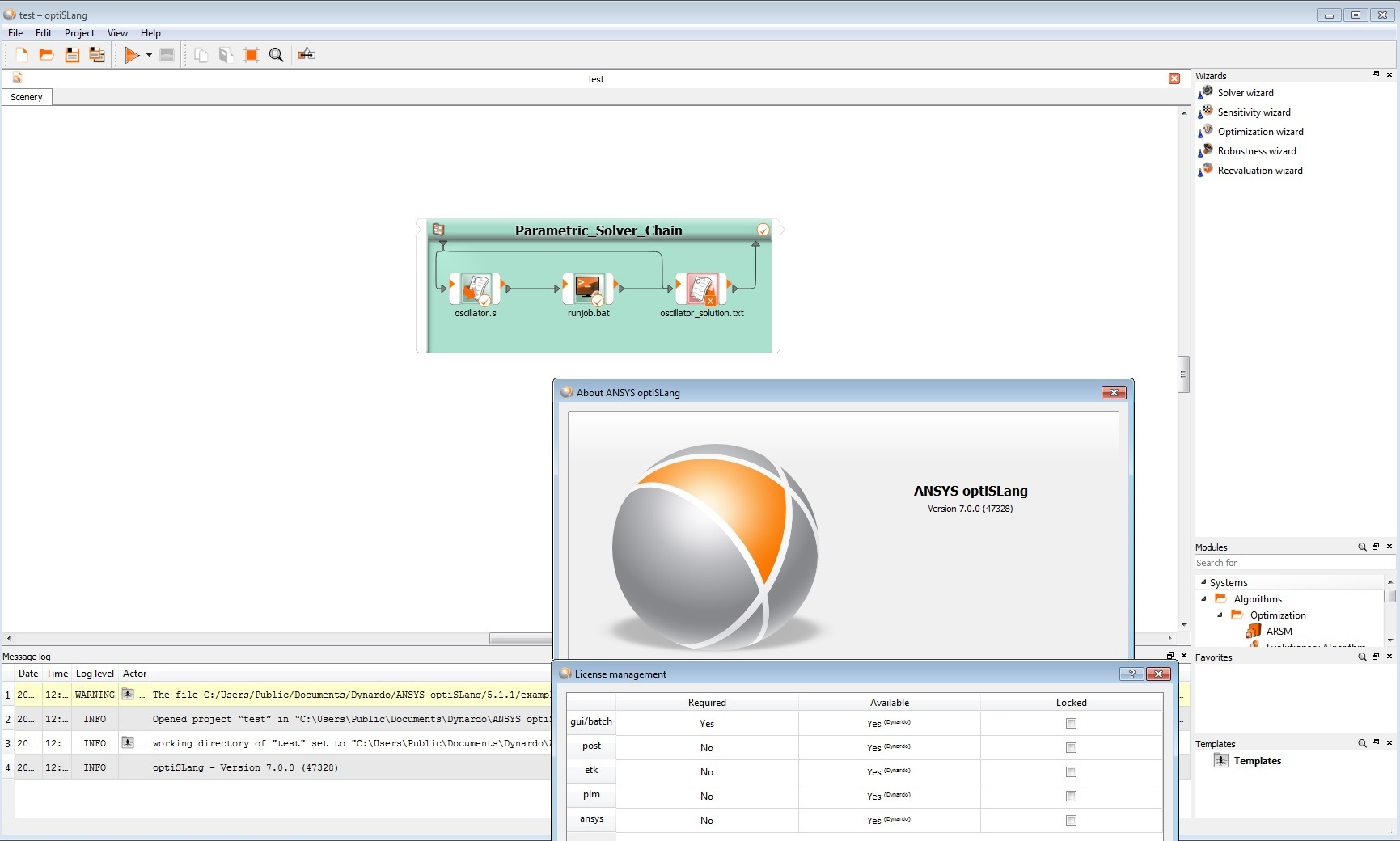 Working with ANSYS optiSLang 7.0.0.47328 full license