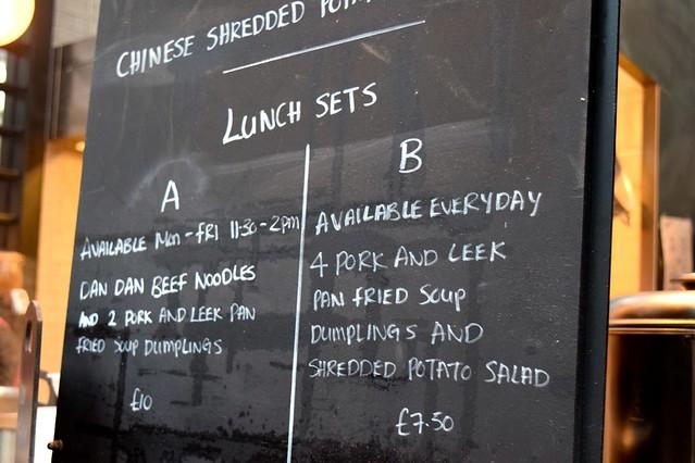 Lunch Sets from Dumpling Shack at The Kitchen at Old Spitalfields Market #dumplingshack #streetfood #london #spitalfields
