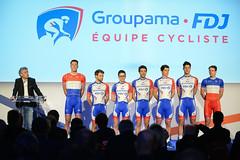 Présentation Equipe Groupama-FDJ