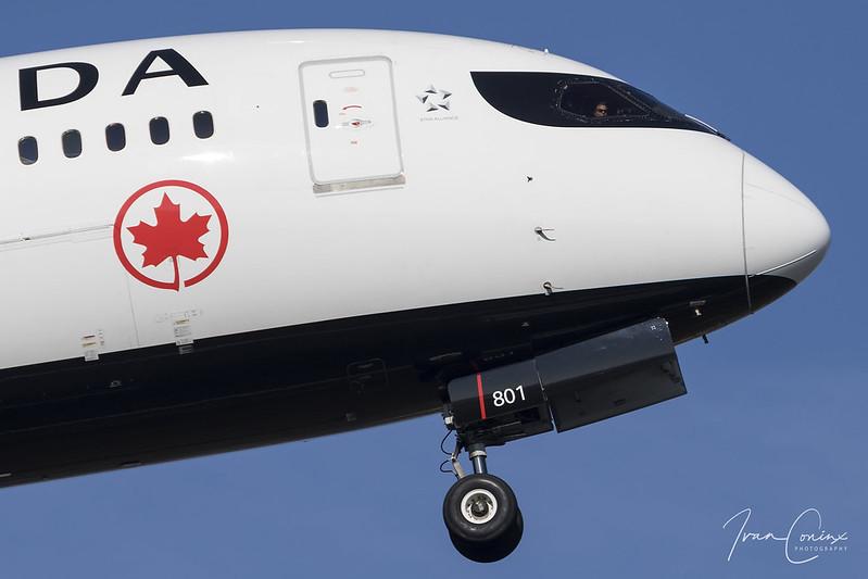 Boeing 787-8 Dreamliner – Air Canada – C-GHPQ – Brussels Airport (BRU EBBR) – 2018 02 24 – Takeoff RWY 07R – 03 – Copyright © 2018 Ivan Coninx