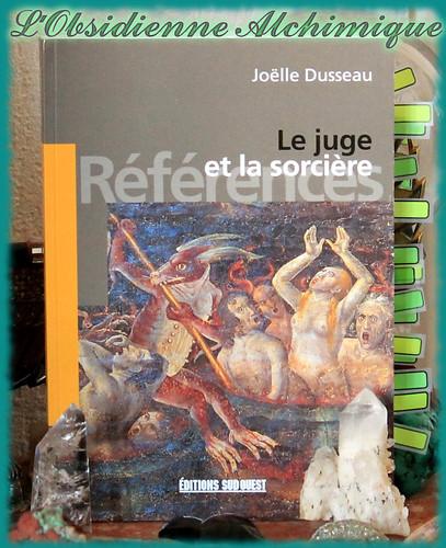 Le juge et la sorcière de Joëlle Dusseau, retour de lecture