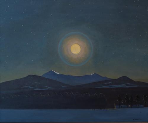 Rockwell Kent , Moonlight, Winter, c. 1940 1/15/18 #whitneymuseum