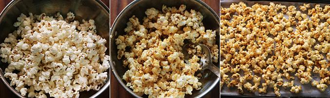 How to make sweet popcorn recipe - Step3