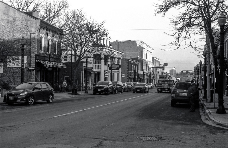 Looking Down King St. Downtown Dundas