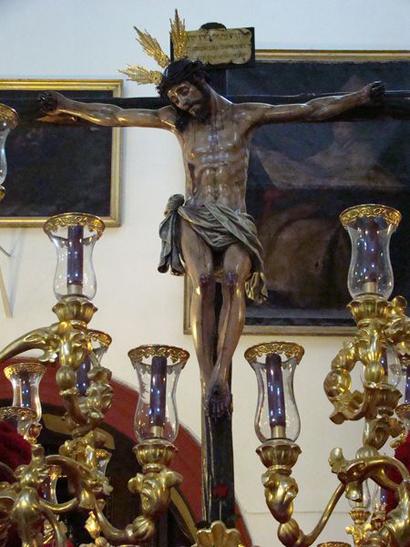 Hermandad del Santísimo Cristo de la Veracruz, María Santísima de la Esperanza y San Juán Evangelista.