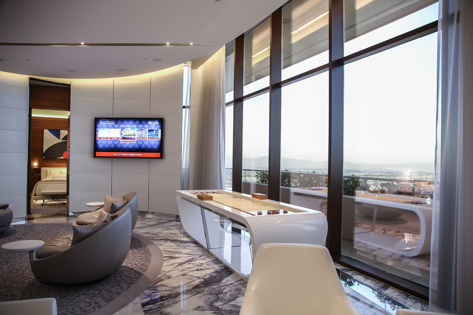 red rock resort luxury suite, where to vacation in Las Vegas
