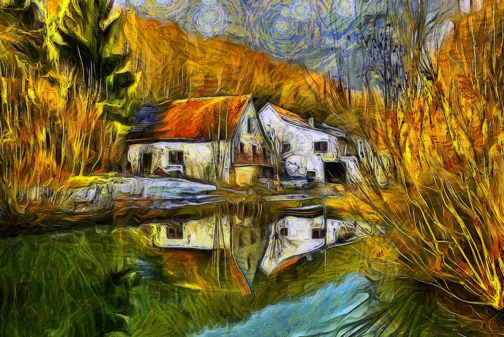 Zeigt eure digitalen Foto-Gemälde