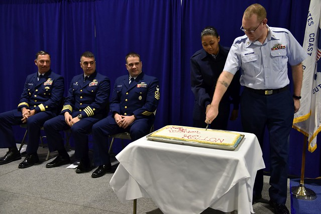Coast Guard Cutter Mellon crew holds 50th Anniversary ceremony