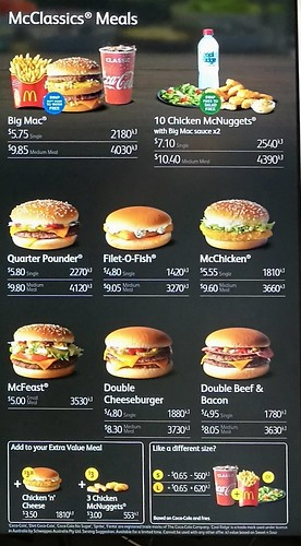 big mac meal in australia