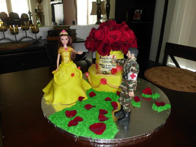 Cake by Sinful Decadence Bakery