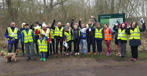 Run Report 27/01/2018 | Linford Wood parkrun
