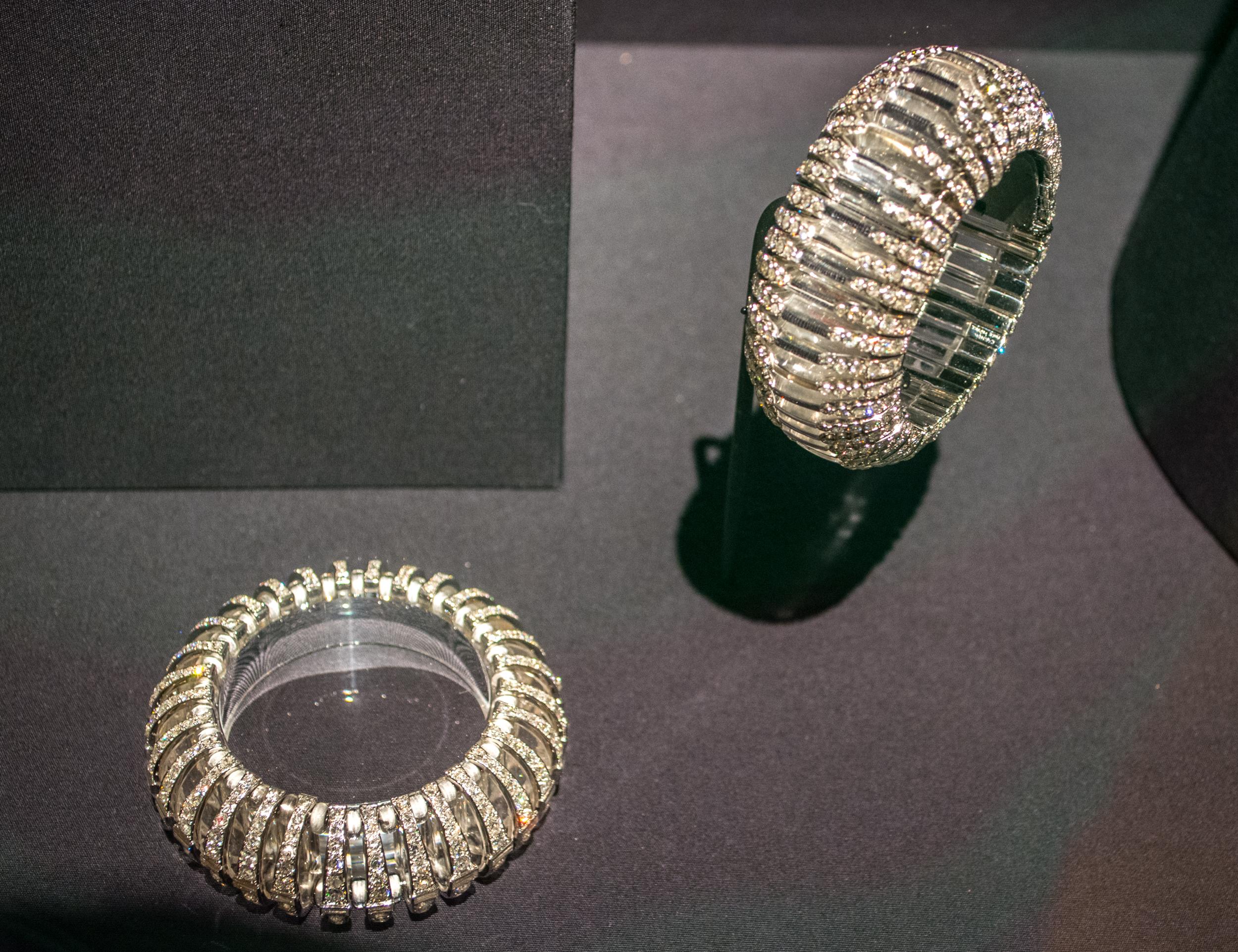 Gloria Swanson bracelets - Cartier
