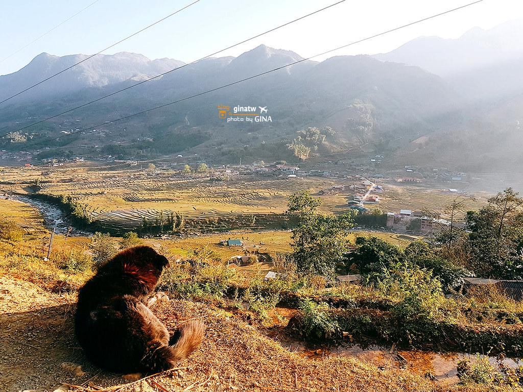 越南河內自由行》SAPA法國小鎮+田園中徒步+體驗在地人生活風情、2天1夜薩帕徒步之旅(高山度假勝地) @Gina Lin