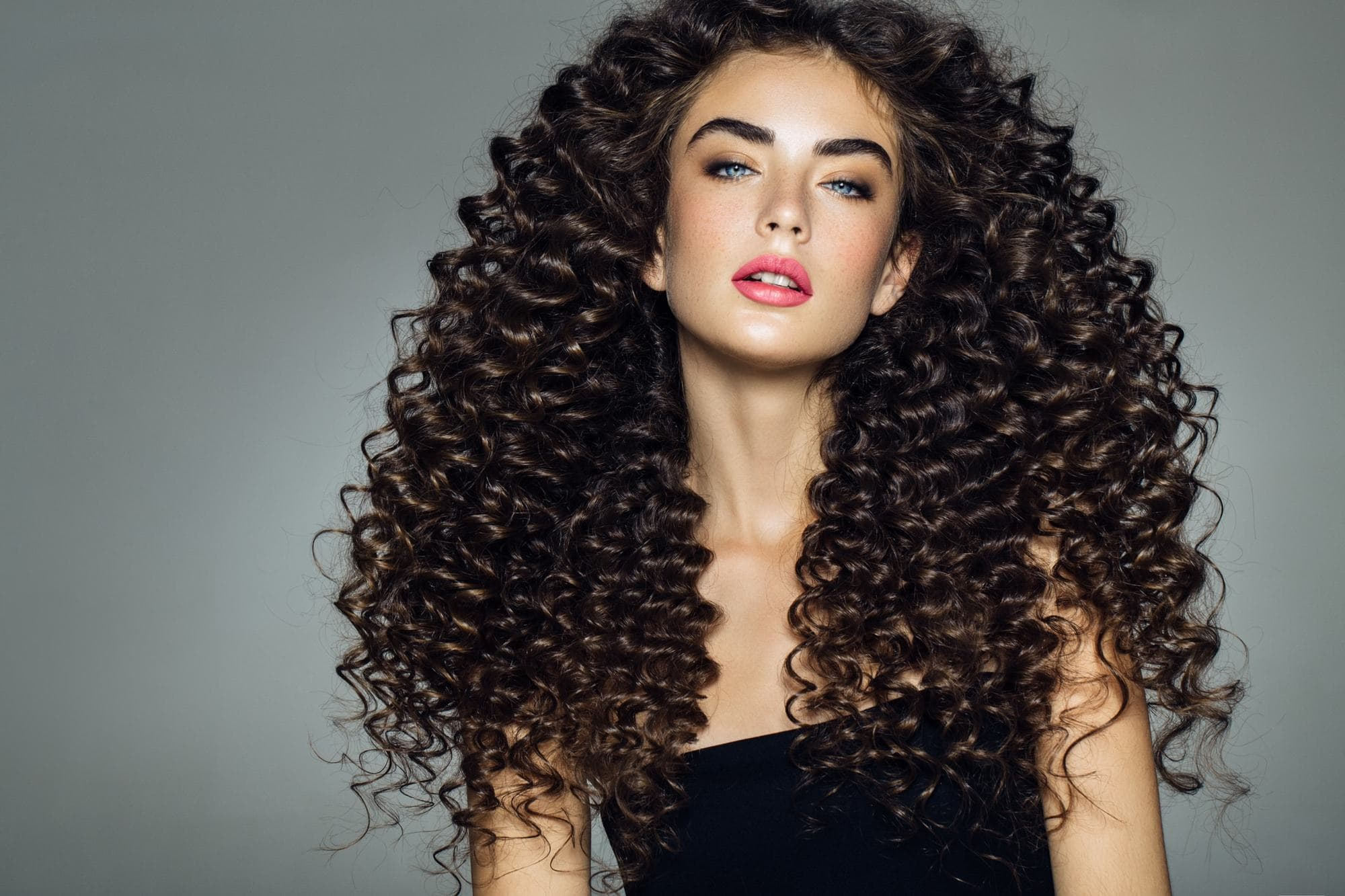 Modern Curly Perms Types : Glamorous Styles 6