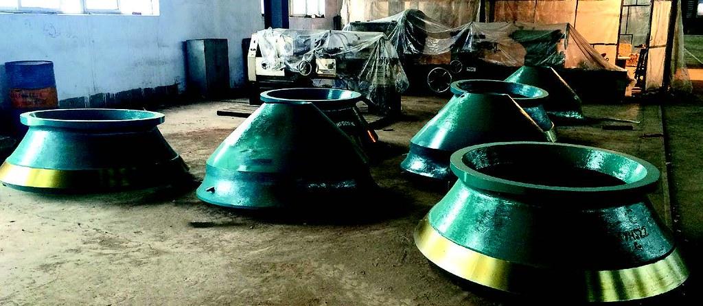 Готовые конусы из модифицированной стали