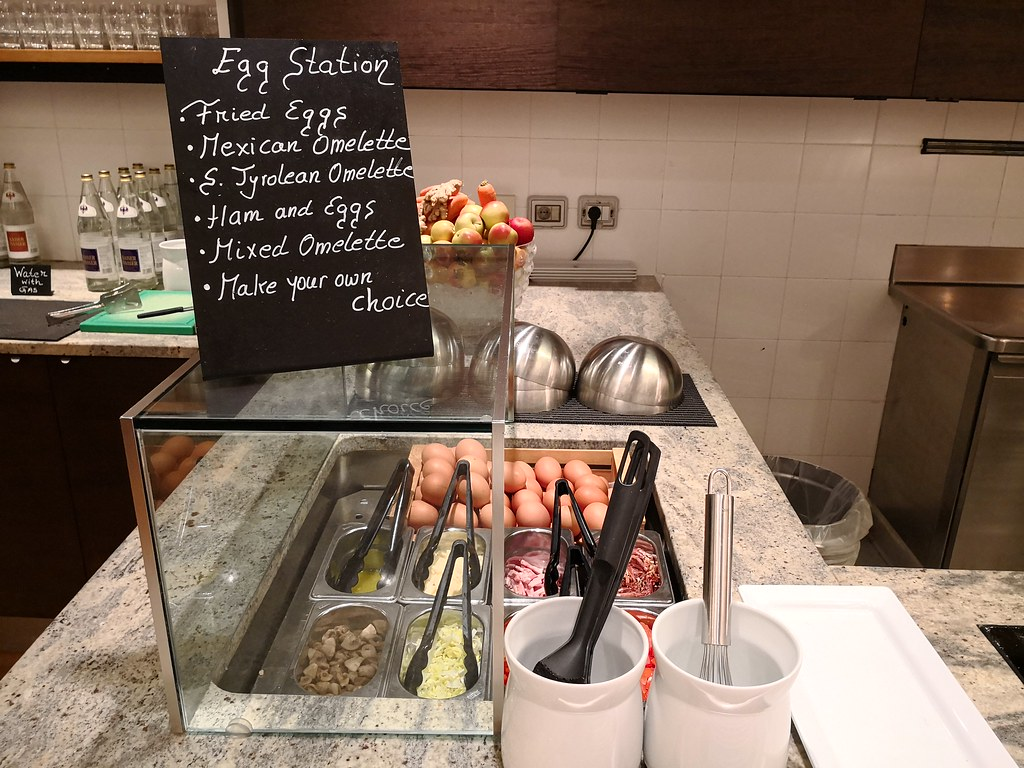 Egg station selections