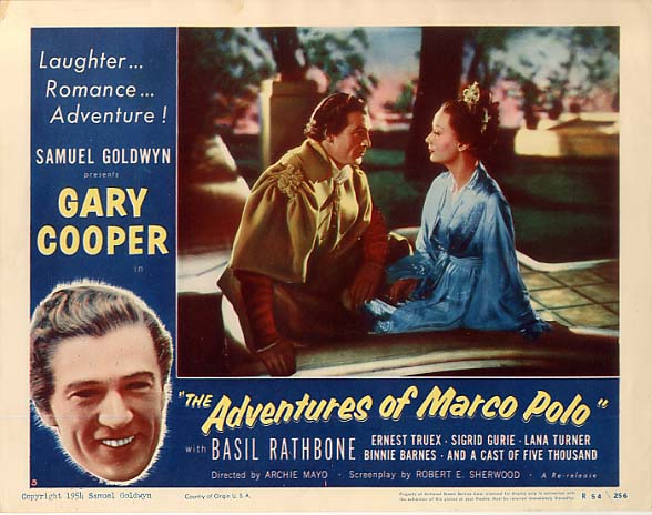 The Adventures of Marco Polo - lobbycard 1