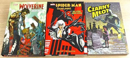 2018-01_Wolverine Spider-man Czarny Mlot