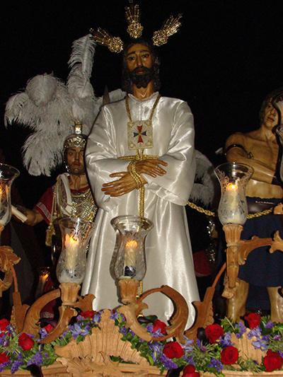 Real, Ilustre, Fervorosa Hermandad y Cofradía de Nazarenos de Nº Padre Jesús Cautivo, María Santísima de los Remedios y San Juan Evangelista.