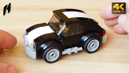 How to Build the Lego Juniors Volkswagen Beetle (MOC - 4K)