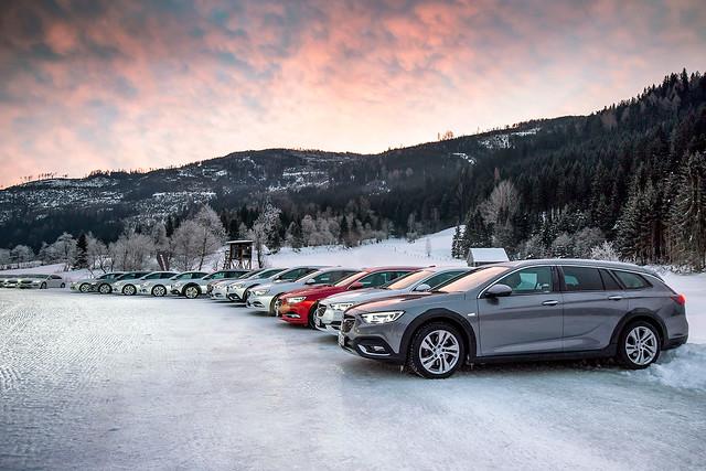 Opel Insignia 4x4 Tests im Schnee