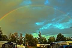 Regenbogen am Campingplatz - Photo of Soufflenheim