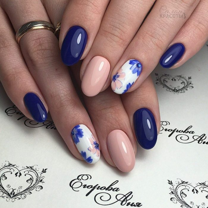 33+ Gel Nail Polish Designs Pictures for Girls - Nails C