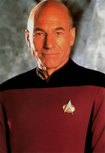 Patrick Stewart in Star Trek: The Next Generation (1991)