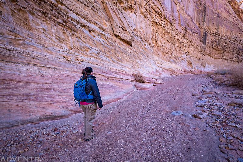 Hiking Chute Canyon