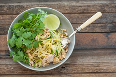 Zucchini & Chicken Pad Thai-2