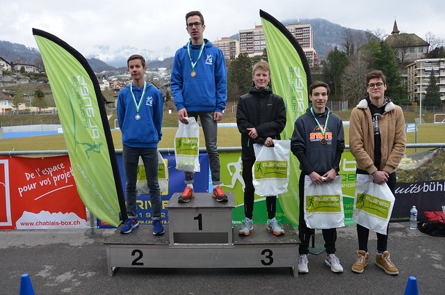 Cross 2018 - les podiums du matin