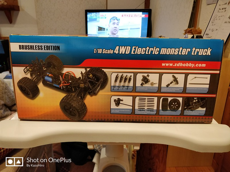 ZD Racing 10427 ラジコンカー 開封レビュー (6)