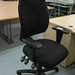 Black swivel chair E60