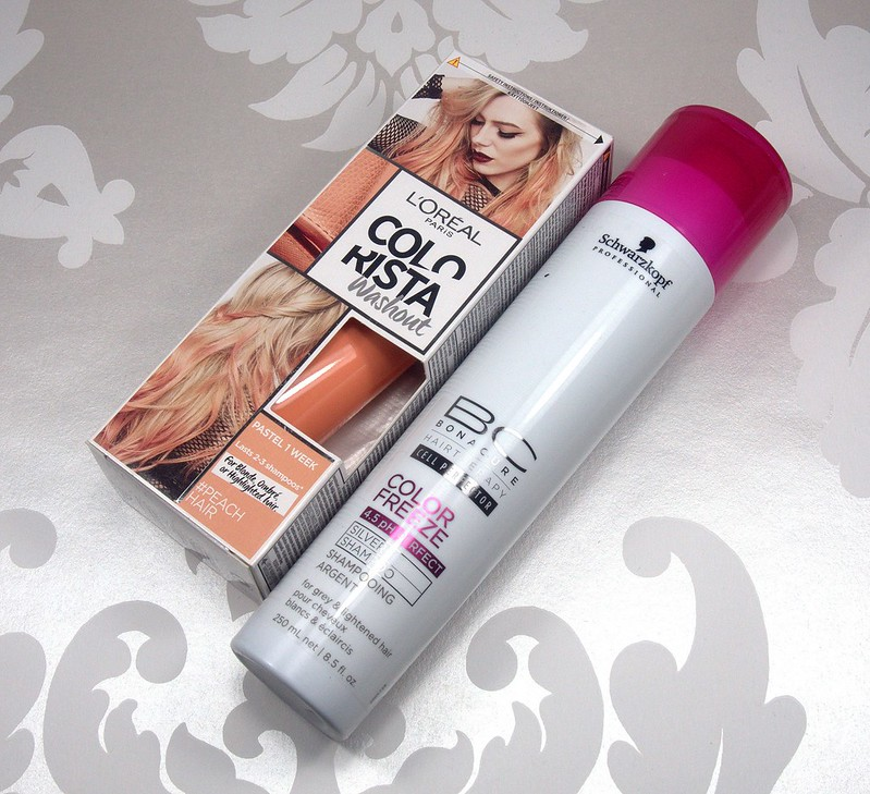 L`oreal Colorista Washout Peach Hair