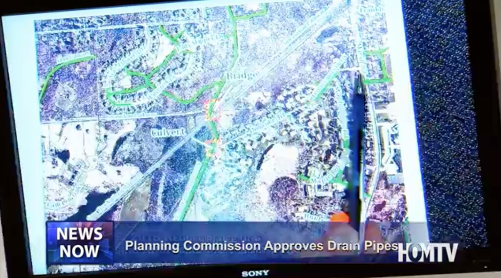 Planning Commission Agrees to go Forth with Installation of Two Drain Pipes