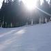 Malý snowpark na Staré sjezdovce