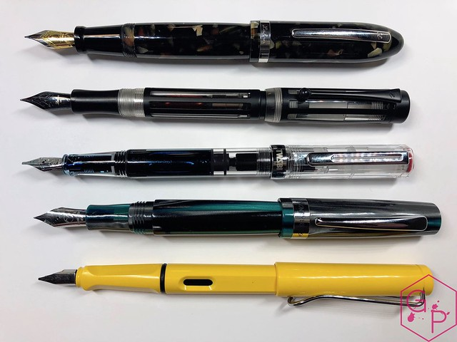 Review @TWSBI Eco Clear Fountain Pen - 1.1 mm stub @GouletPens @BrianGoulet_ 5