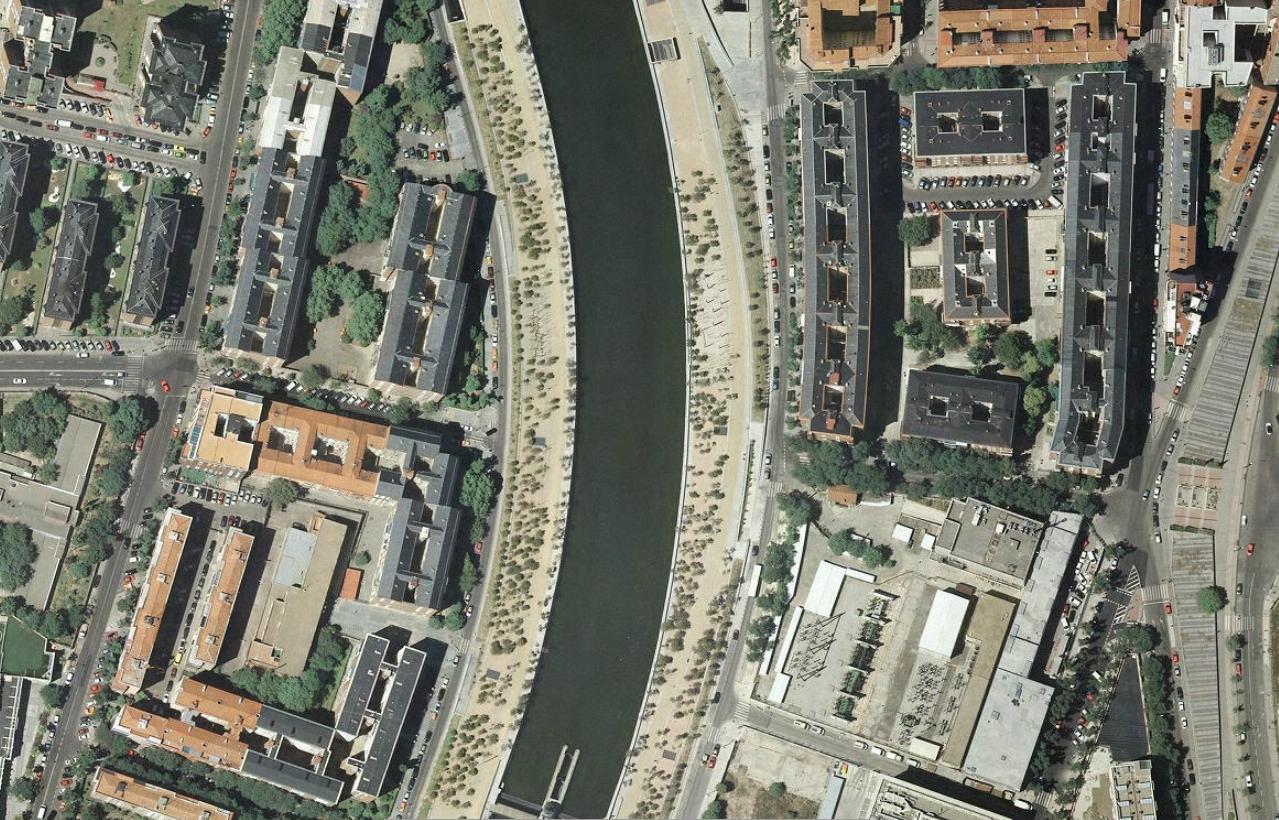 pasarela de manterola sobre la m-30, madrid, tres erres, después, urbanismo, planeamiento, urbano, desastre, urbanístico, construcción, rotondas, carretera