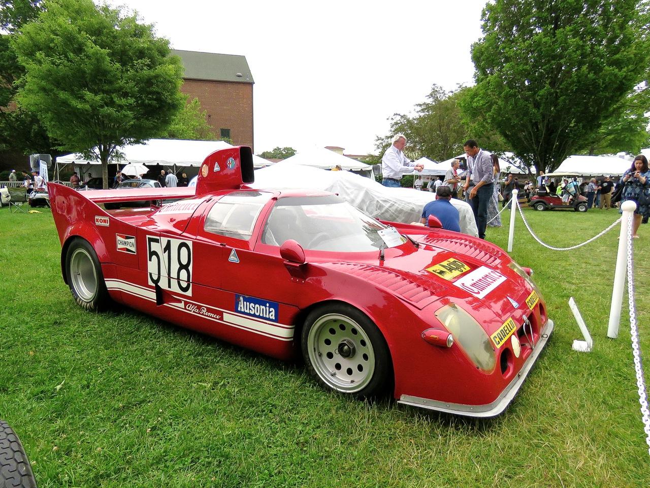 Alfa Romeo Tipo 33 Coupe Nastasi Racing 2
