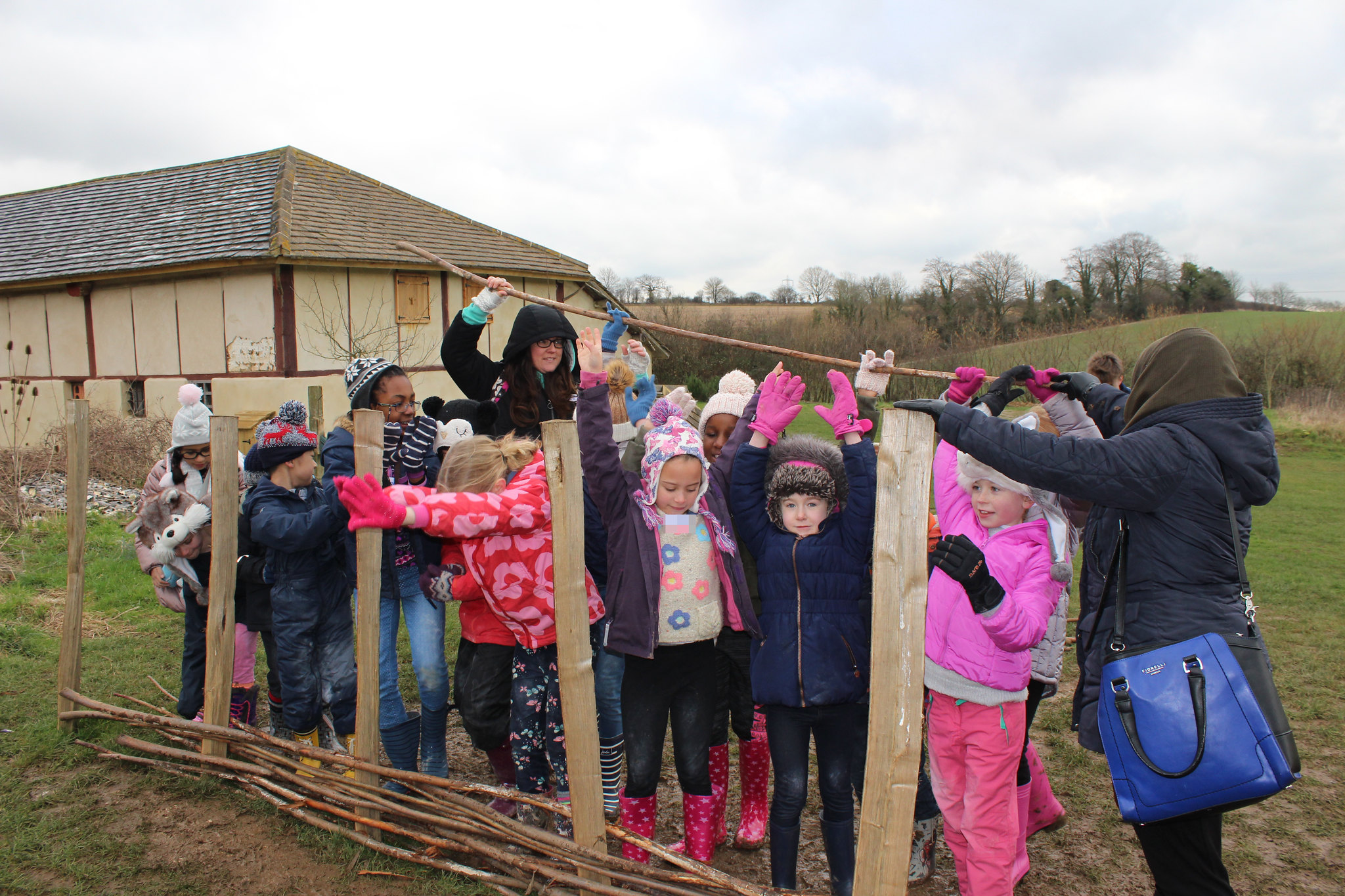 Year 3 & 4's Visit to Butser Ancient Farm