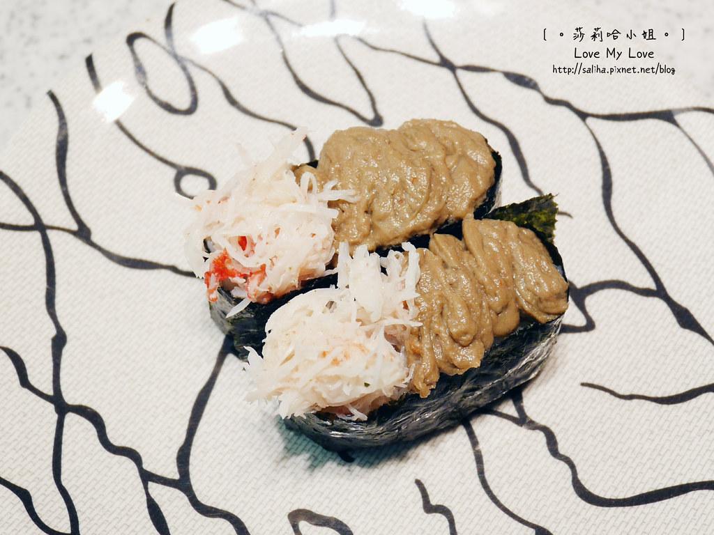 台北西門站附近美食餐廳壽司sushi推薦點爭鮮 (4)