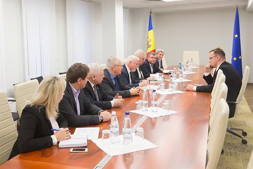 07.02.2018 Întrevedere delegatia Adunării Parlamentare Republica Moldova - Republica Polonă cu ambasadorul Poloniei - Bartłomiej Zdaniuk