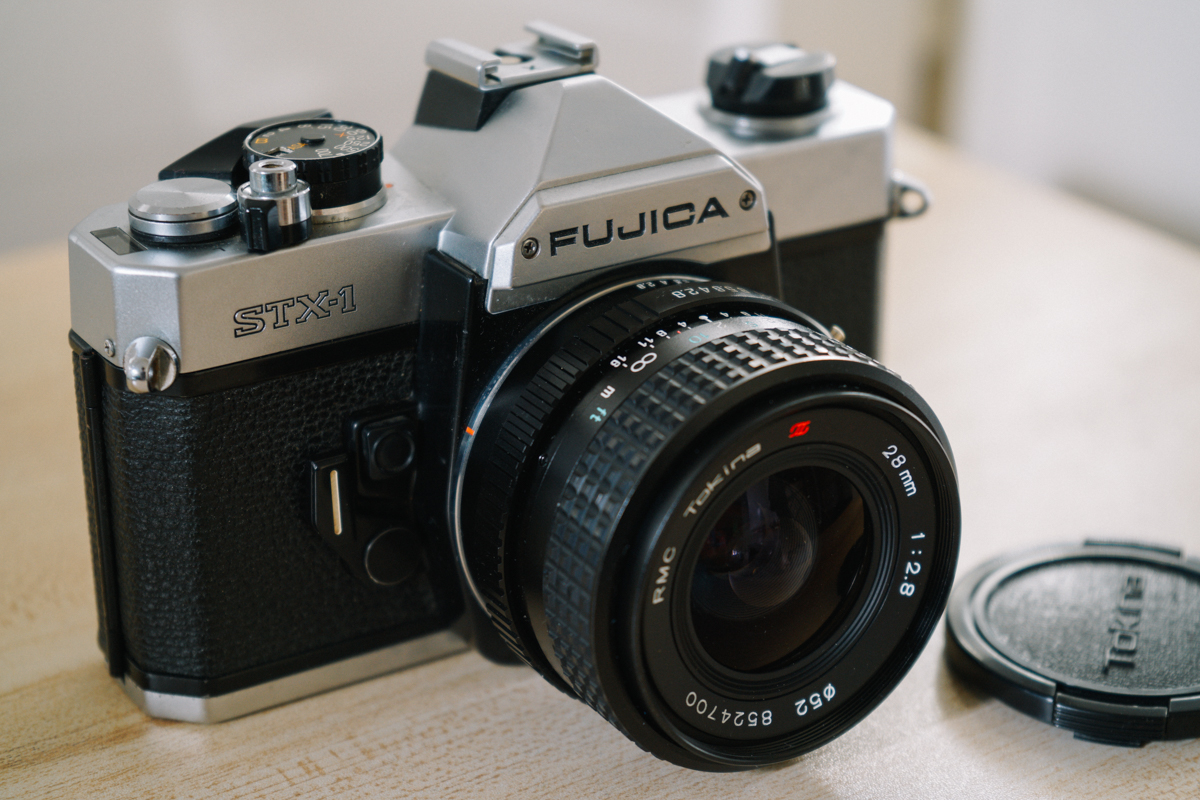 FUJICA STX-1 with TokinA RMC 28mm F2.8