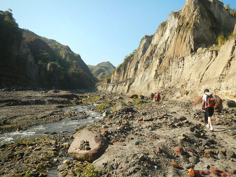 Mt. Pinatubo Lahar Canyon